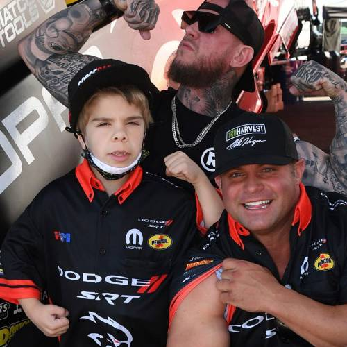 Hagan Added a New Crew Member to His Team Last Weekend